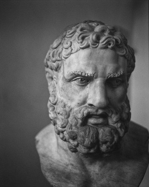 Herakles (Stampa al carbone)