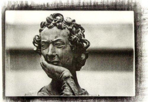 Personaggio del Compianto di Nicolò Dell'Arca, Bologna (Platinotipie e Gomma Multipla)