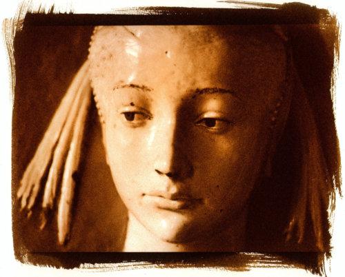 Madonna, Firenze Museo del Bargello (Stampa ai sali ferrici)